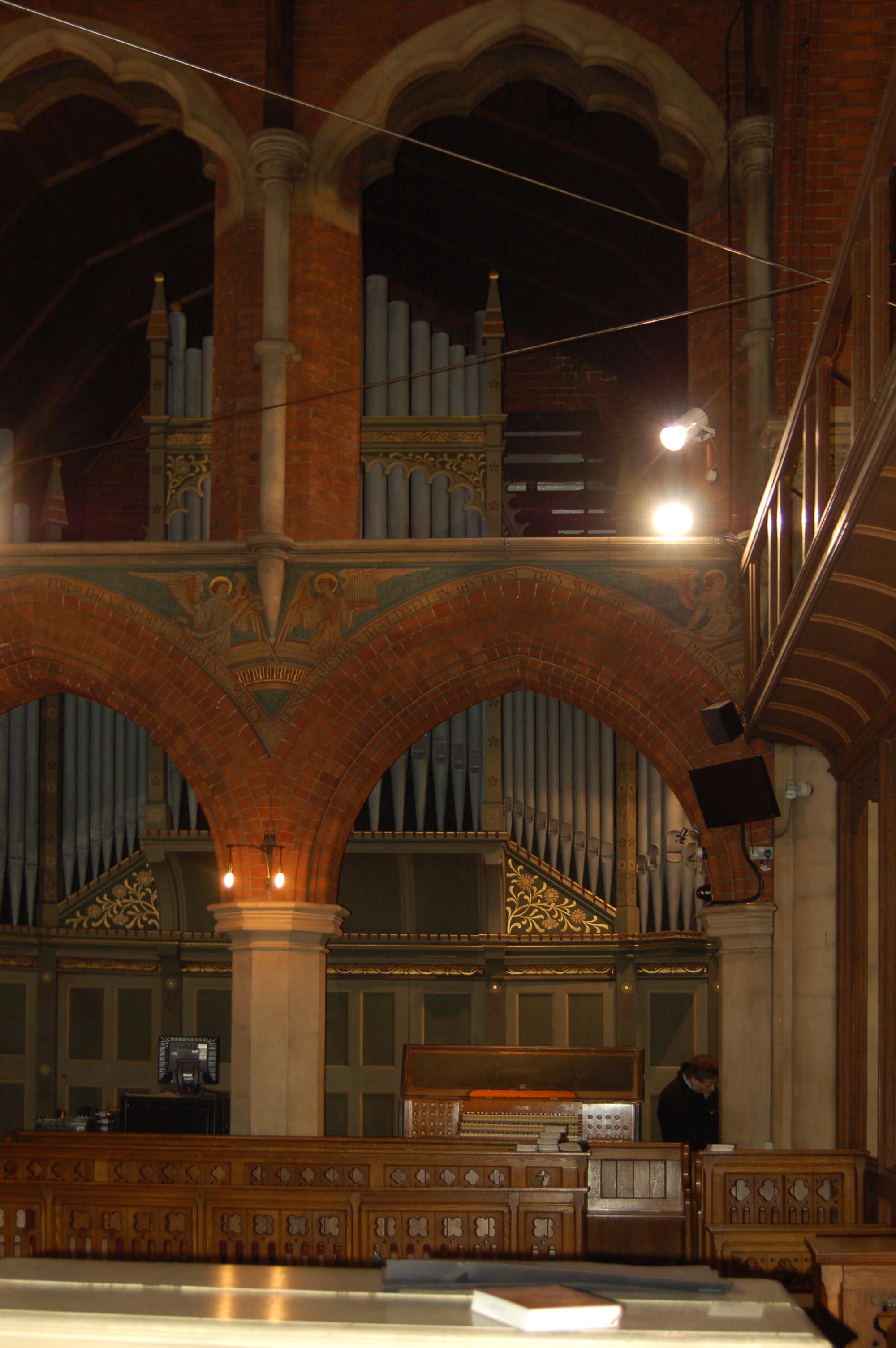 Image: St Mary the Virgin Lansdowne Road - organ case