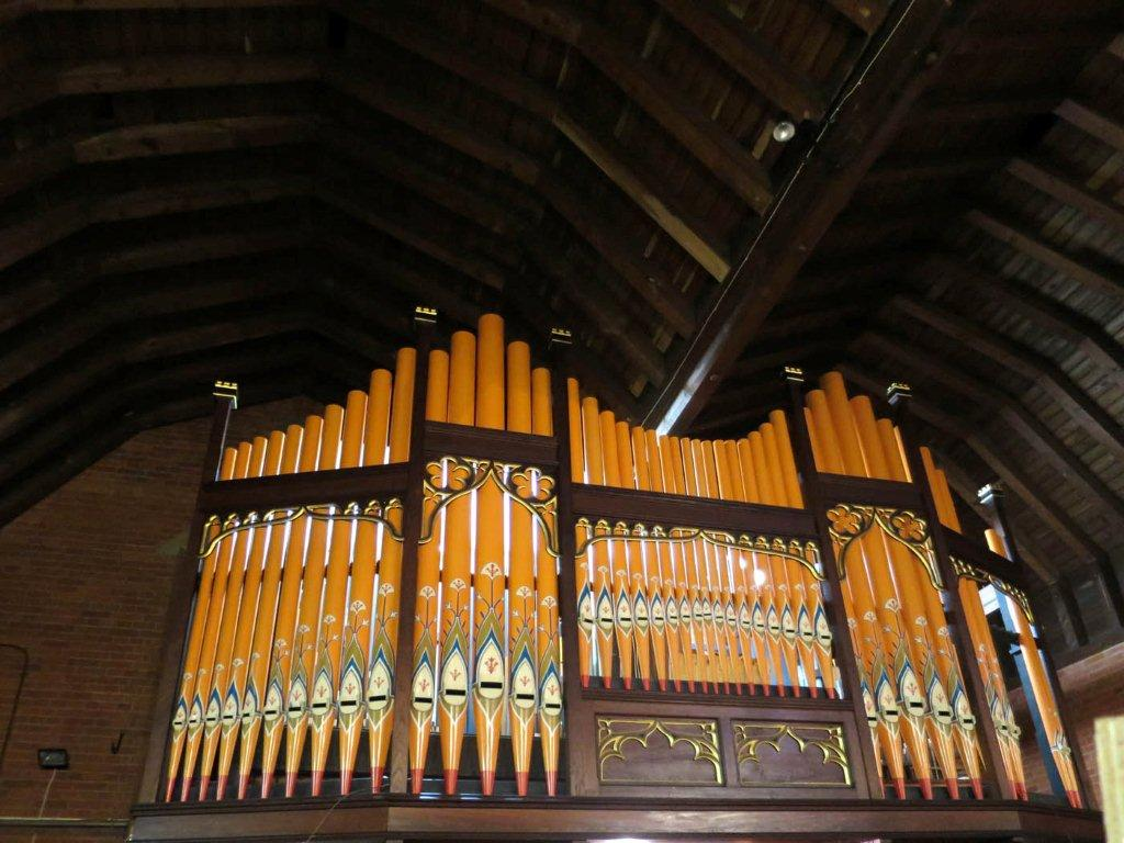 Image: organ pipes