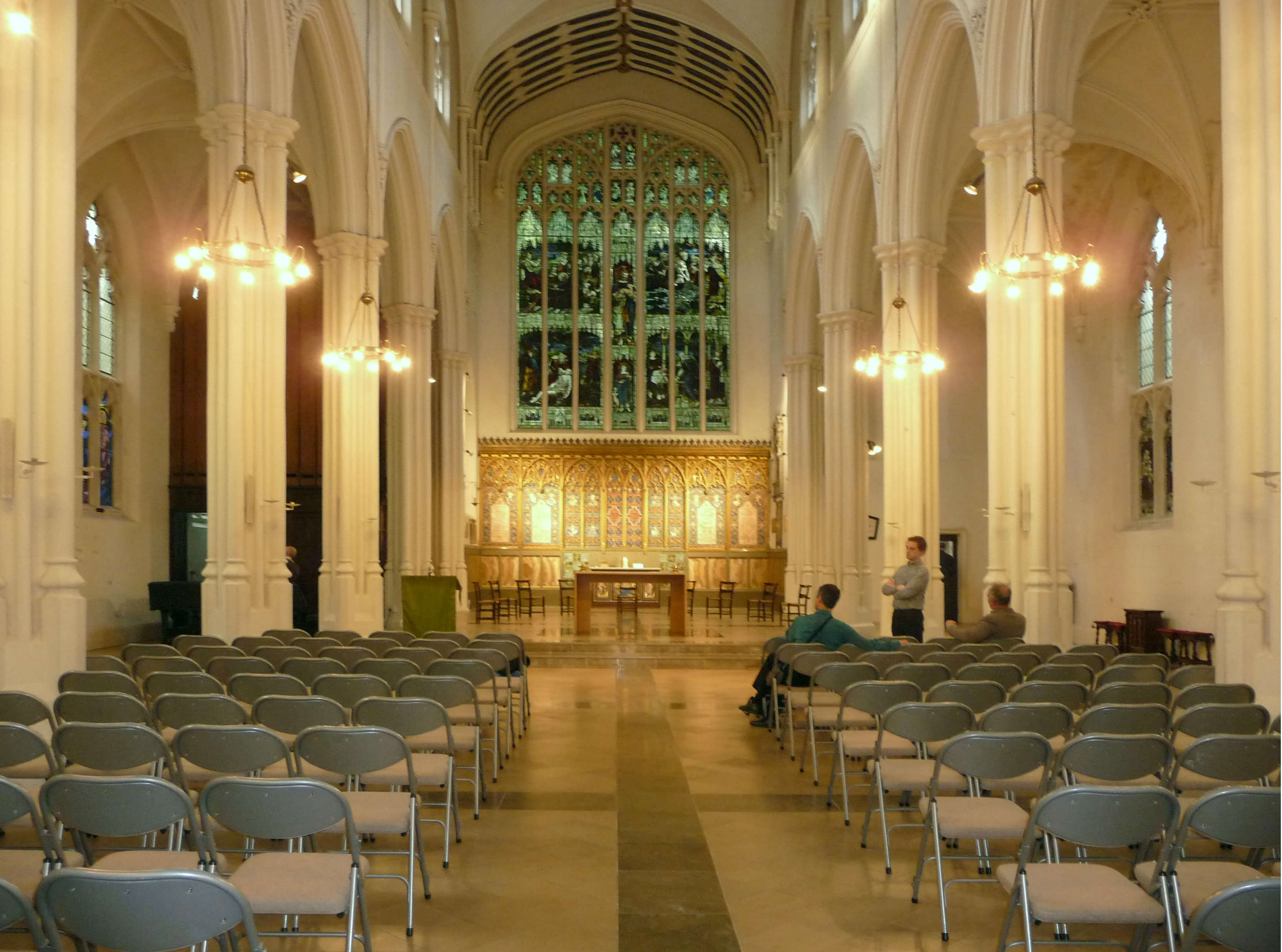 Image: St John's Hyde Park: view of the nave