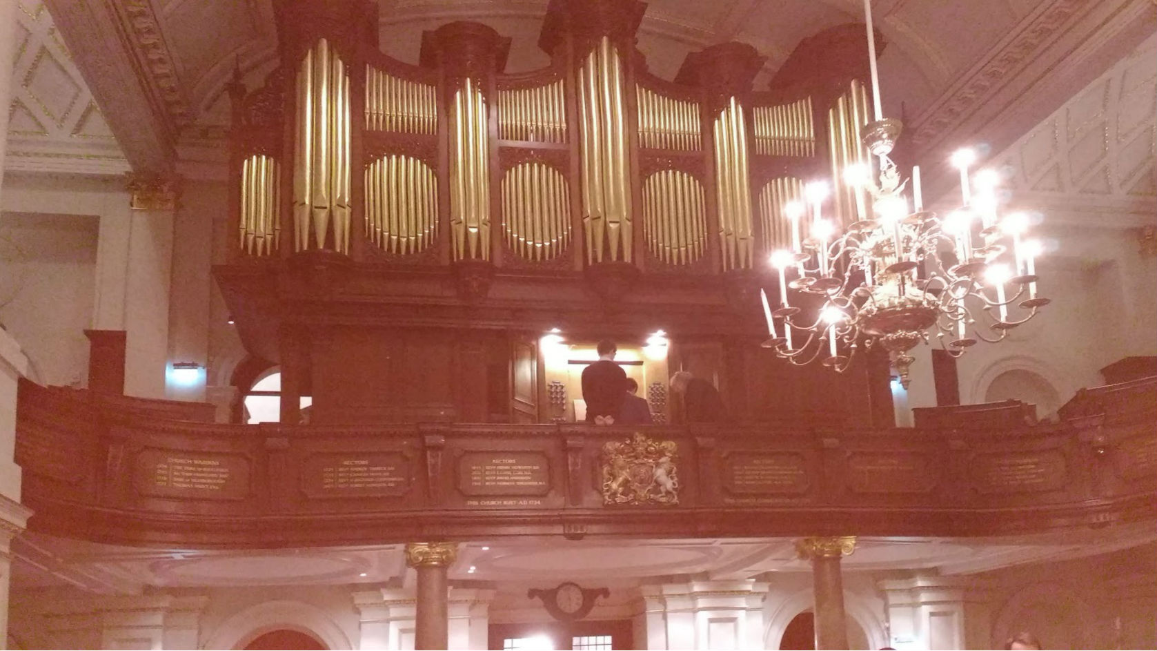 Image: St George's Hanover Square: organ